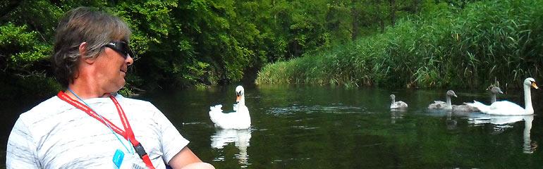 Spływ kajakowy Drawa - czerwiec 2014